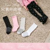 VOLA 維菈襪品   兒童單點點半統襪   棉質舒適  兩段 /四色