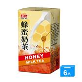 M-紅牌蜂蜜奶茶300ml x 6【愛買】