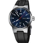 ORIS 豪利時 Willimas F1賽車系列日曆星期機械錶-藍x黑/42mm 0173577164155-0742450