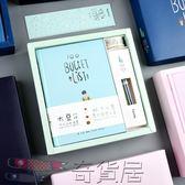 雙十二狂歡購阿七喵盒裝手賬本套裝禮盒 小清新100個心愿韓版日式創意日記本子【奇貨居】