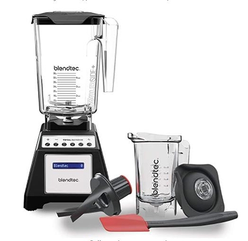 [2美國直購] Blendtec 套餐組雙量杯 Total Classic Original Blender - WildSide + Jar and Twister Jar BUNDLE