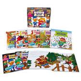 書立得-數學故事魔法盒(8冊+4CD)