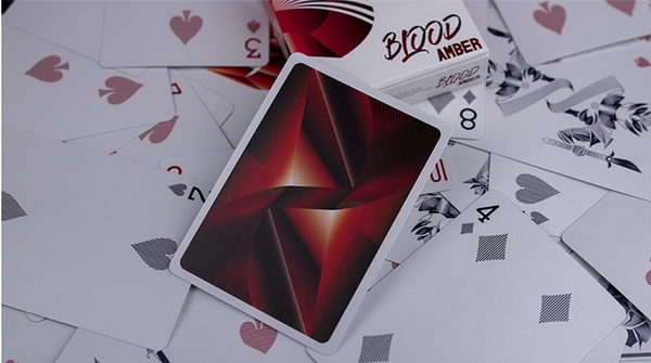 【USPCC撲克】 Skymember Presents Blood Amber by The One Playing Cards
