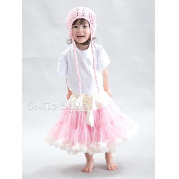 Cutie Bella蓬蓬裙Cream/Pink/Cream,90/110CM