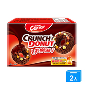 喜瑞爾Crunch Donut多樂滋(楓糖可可)20G x4入【兩入組】【愛買】