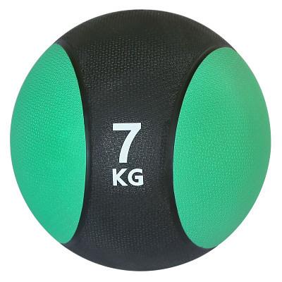 健身藥球 實心橡膠健身藥球重力球7KG健身球腰腹部訓練敏捷運動Medicine Ball