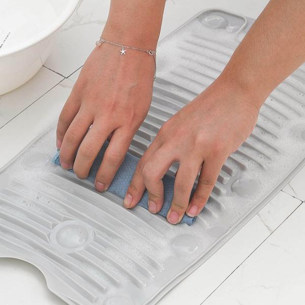 洗衣神器 矽膠吸盤洗衣神器 洗衣板 CYB-1