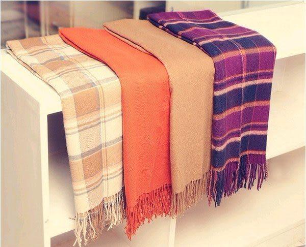 羊絨毛披肩圍巾