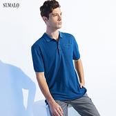【ST.MALO】新科技XT2銀纖維POLO衫-1958MP-寶石藍