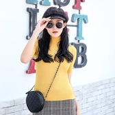 寶娜斯針織衫德絨自發熱襯衫女2019年秋冬新款高領韓版修身套頭衫 米娜小鋪