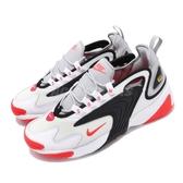 Nike 復古慢跑鞋 Zoom 2K 白 橘紅 黑 灰 漸層 男鞋 老爹鞋 運動鞋 【PUMP306】 AO0269-105