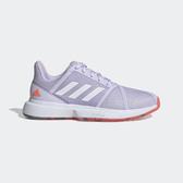 Adidas Courtjam Bounce W [EF2764] 女鞋 網球 透氣 耐磨 緩衝 舒適 愛迪達 紫橘