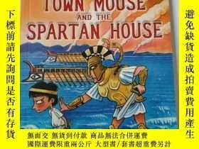 二手書博民逛書店TERRY罕見DEARY S GREEK TALES THE TOWN MOUSE AND THE SPARTAN