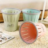 歐式帶壓圈垃圾桶 家用廚房客廳衛生間垃圾簍垃圾筒子紙簍【限時好康9折】