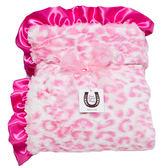 美國嬰兒毛毯動物紋 - 粉紅美洲豹: MD-AP-05