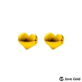 JoveGold漾金飾 天真黃金耳環