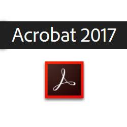 ◤全新品 含稅 免運費◢ Acrobat Standard 2017 中文版 標準商業盒裝完整版 (Windows適用)