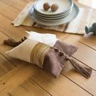 [超豐國際]美式鄉村復古做舊藍寬條紋紙巾...