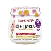 日本 KEWPIE A91日式野菜雞肉燉飯泥100G (9個月以上適用)