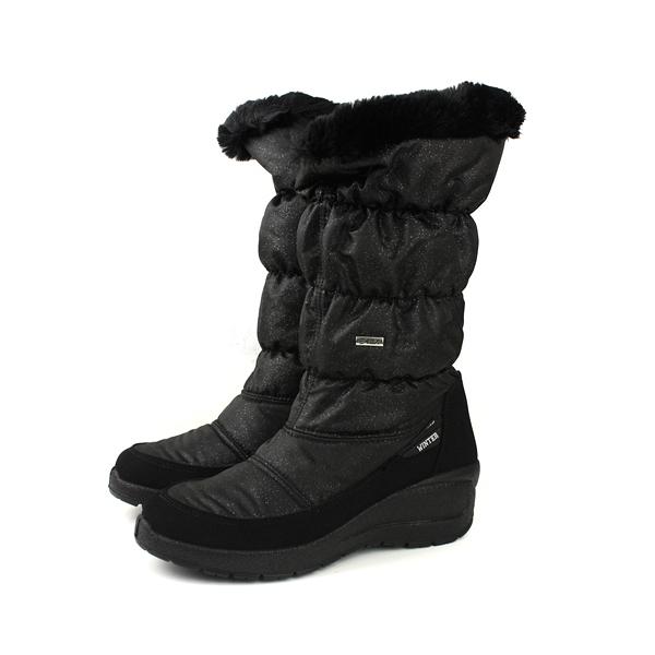 Grünland  靴子 長靴 保暖 黑色 女鞋 DO0287 no030