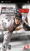 PSP Major League Baseball 2K9 職棒大聯盟 2K9(美版代購)
