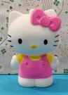 【震撼精品百貨】Hello Kitty 凱蒂貓~三麗鷗 KITTY 軟膠玩偶-粉站*07768