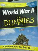 【書寶二手書T9/原文書_QFJ】World War II for Dummies_Keith D.Dickson