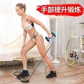 腹肌拉力器仰臥起坐瘦肚子健腹輪拉力繩自動回彈家用女性健身器材 【新年免運】