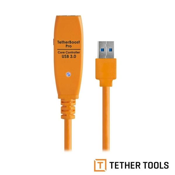 【南紡購物中心】Tether Tools USB3.0 訊號傳輸加強器 相機適用 TBPRO-ORG