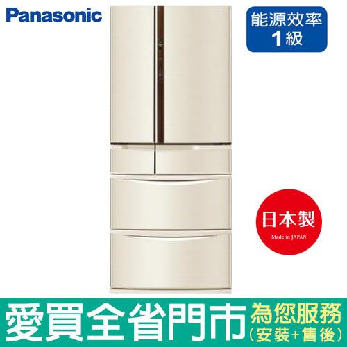 Panasonic國際501L六門變頻冰箱