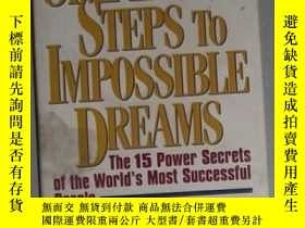 二手書博民逛書店英文原版罕見Simple Steps to Impossible