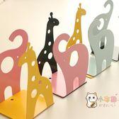 書立書立大號創意桌面可愛動物造型金屬書夾書靠彩色閱讀架 一件82折