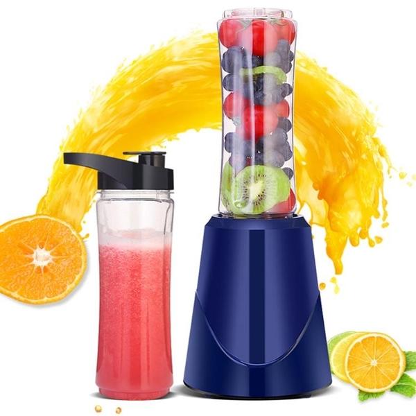 榨汁機家用水果小型迷你榨汁杯充電便攜式學生宿舍手動簡易輔食機YYJ 易家樂