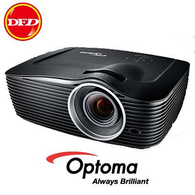 (現貨)OPTOMA 投影機 EH501 3年全機保固 5000流明 HDMI 送北區精緻基本吊式安裝調整+100吋電動布幕