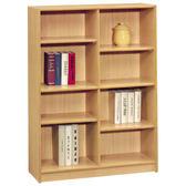 【森可家居】山毛櫸3x4尺組合書櫃(中立板空架) 7SB257-2