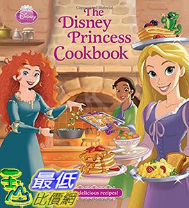 [106美國直購] 2017美國暢銷兒童書 The Disney Princess Cookbook Hardcover