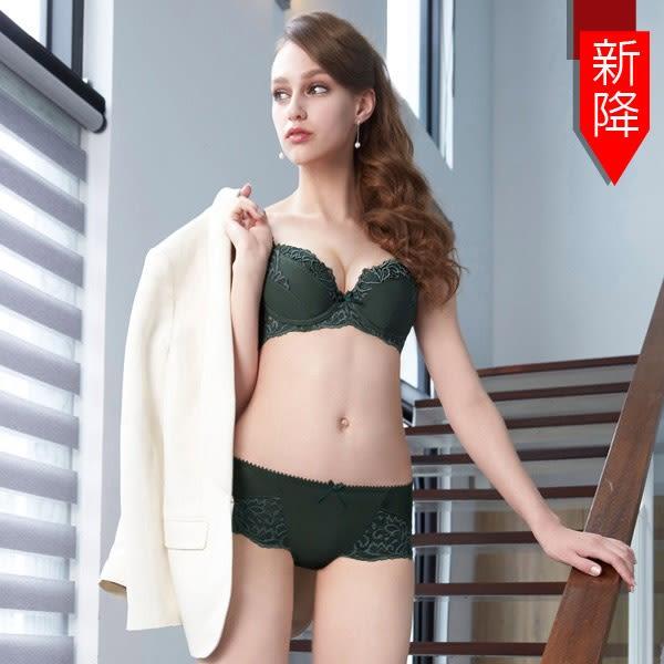 曼黛瑪璉-包覆提托Hibra大波內衣  B-G罩杯(深遂綠) (未滿2件恕無法出貨,退貨需整筆退)