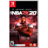 [哈GAME族]免運費●收錄遊戲幣+聯盟卡包●Switch NS NBA 2K20 中文版 美國職業籃球賽 9/6發售