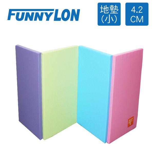 安全遊戲墊》FUNNYLON 韓國4.2cm地墊(小)-粉彩-200x90cm★N-LSI062-2