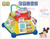 麗嬰兒童玩具館~日本Toyroyal 樂雅專櫃-歡樂益智盒.六面遊戲組合,創造出不同的益智小遊戲