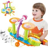 音樂鼓 兒童爵士鼓 電動燈光玩具-JoyBaby