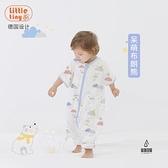 寶寶嬰兒睡袋兒童分腿睡袋紗布薄款分腿【愛物及屋】