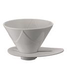 金時代書香咖啡 HARIO V60 MUGEN 無限濾杯 白陶瓷濾杯 1-2杯 VDMU-02-CW (歡迎加入Line@ID:@kto2932e詢問)