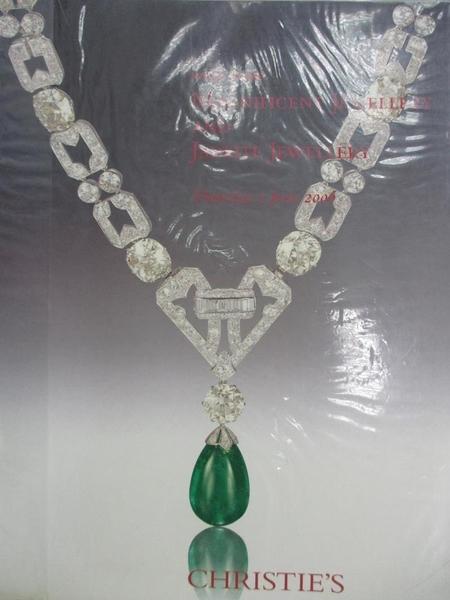 【書寶二手書T1/收藏_YIB】Christie s_Magnificent Jewellery and…2006/6/1