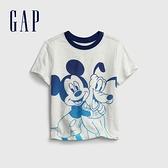 Gap男幼童 Gap x Disney 迪士尼系列聯名純棉T恤 681419-白色