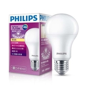 PHILIPS 飛利浦 10W LED廣角燈泡-黃光