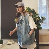 牛仔馬甲外套女2020年新款韓版寬鬆網紅潮流外穿春秋季馬夾背心潮 【ifashion·全店免運】