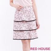 RED HOUSE-蕾赫斯-櫻花蛋糕裙(共2色)