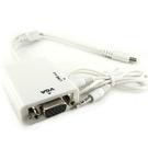 ◆MICRO USB轉VGA 影音傳輸轉接線~含運◆三星 SAMSUNG GALAXY Note3 N9000 MHL手機 影像聲音輸出