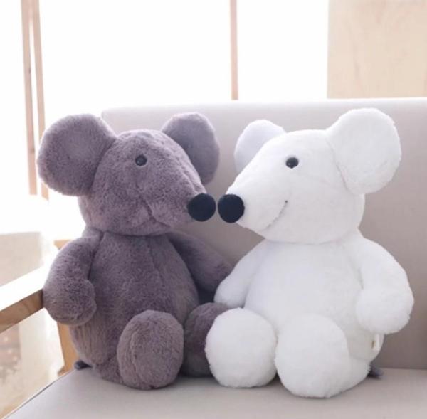 【30公分】仿真動物家族玩偶 小豬 小老鼠 大象 小雞 絨毛娃娃 聖誕節交換禮物 講故事道具